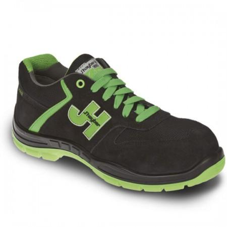 Zapato Style Negro/Verde