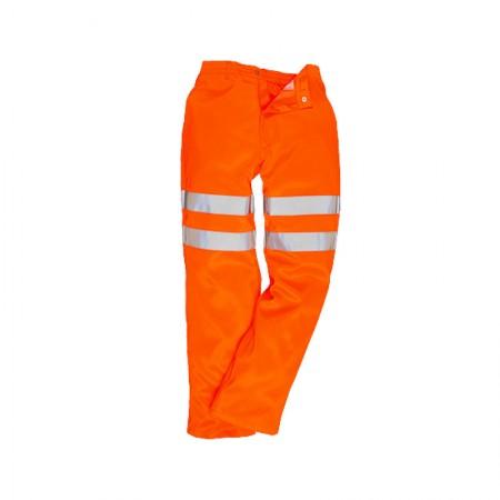 Pantalón de polialgodón de alta visibilidad RIS