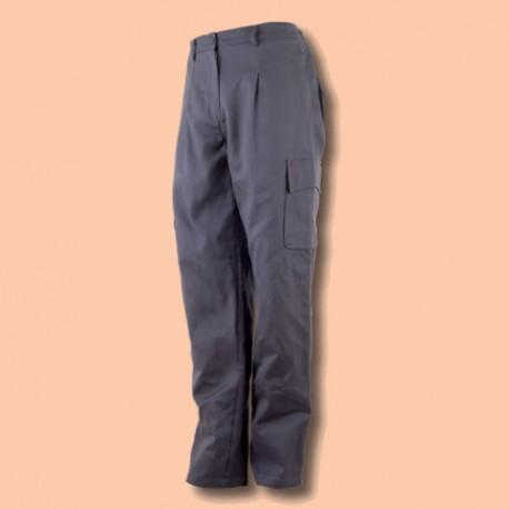 Pantalón Modelo Montador Algodón Azul Marino