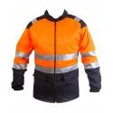 Cazadora de motosierra Alta Visibilidad Naranja Clase 2 Categoría III