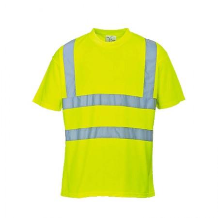 Camiseta de alta visibilidad Amarilla