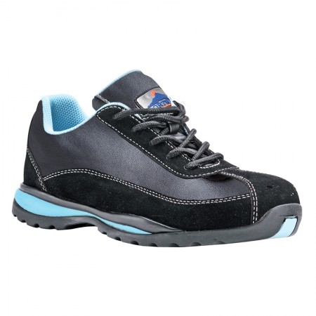 Zapato de seguridad Steelite Ladies Trainer S1P HRO Negro