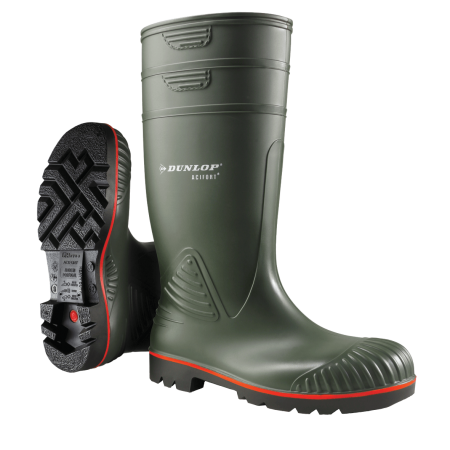 Botas Dunlop Acifort Heavy Duty Full Safety
