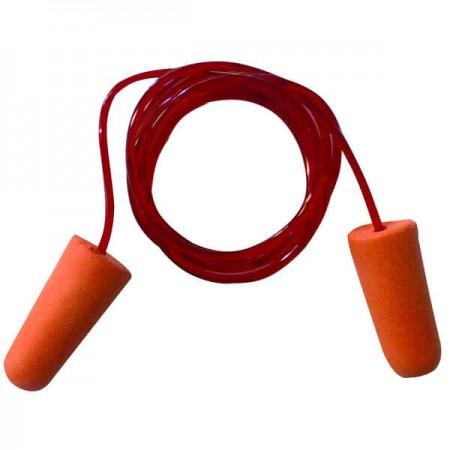 Tapones con cordón