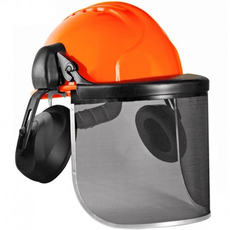 Casco EVOLITE Forestal Naranja