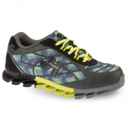 Bolt Graphite/Lime Shoe