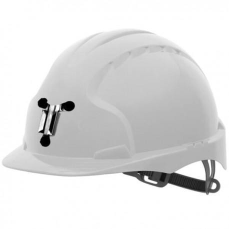 Helmet EVO3 Mining OneTouch Slip Ratchet White