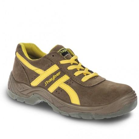 Zapato deportivo de seguridad J'Hayber Indiana Camel