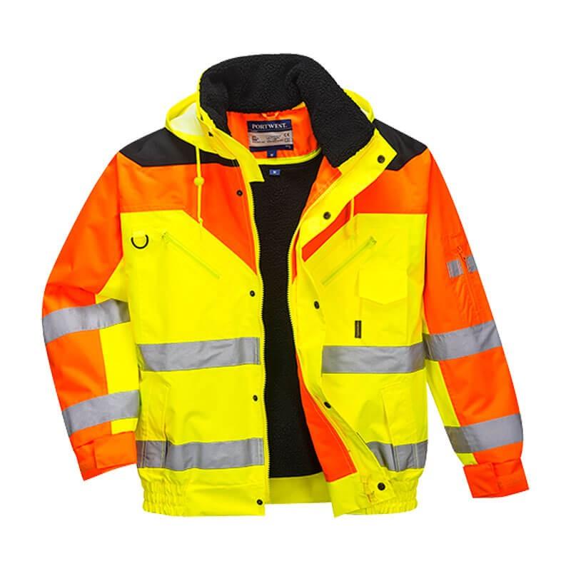 Parka amarillo naranja contrast plus s464 tocarama s l - Amarillo naranja ...