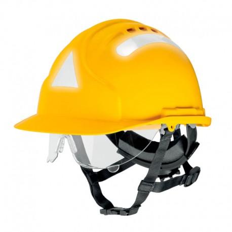 Casco Mk7 FOGATA Forestal Amarillo de alta temperatura