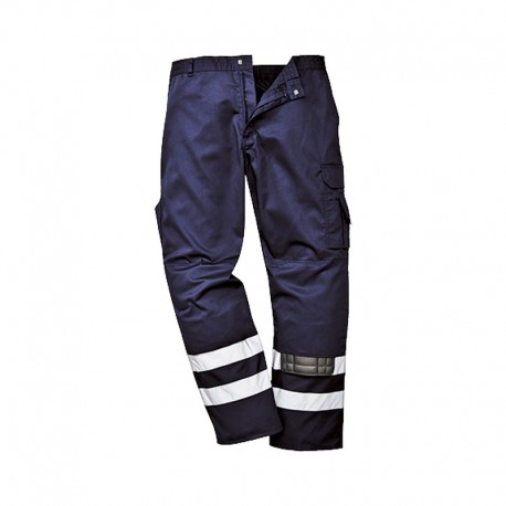 Trousers Flex navy blue