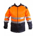 Chainsaw Jacket High Visibility Orange Class 2 Category III
