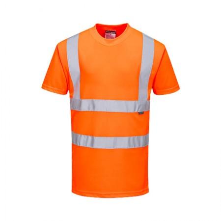 Camiseta de alta visibilidad RIS Naranja